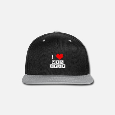 East Middle East love - Snapback Cap