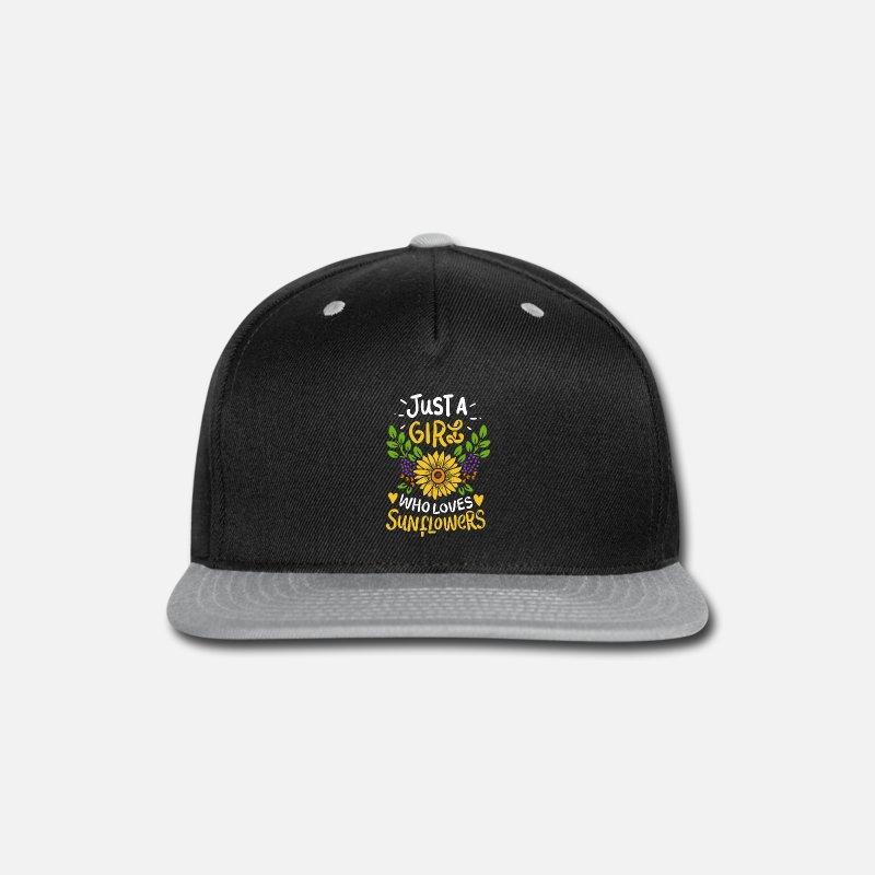 e225488e Sunflower Snapback Cap   Spreadshirt