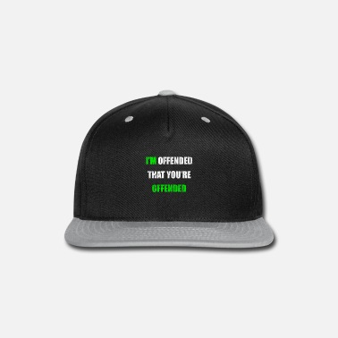 Attackers be attacked - Snapback Cap