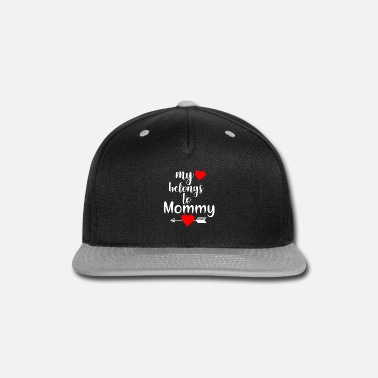 Mother Passport My heart is with my mother. - Snapback Cap