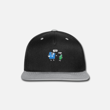 Disk Computer Engineering Father & Son Floppy Disk Gift - Snapback Cap