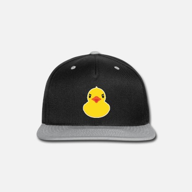 Rubber Duckie Rubber Duck product Cute Bath Time Toy Gifts - Snapback Cap