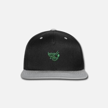 Weights Weight Lifting Weight Lifting Weight Lifting - Snapback Cap