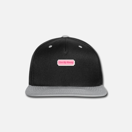 Game Caps - Mother's Day Badges 4 - Snapback Cap black/gray