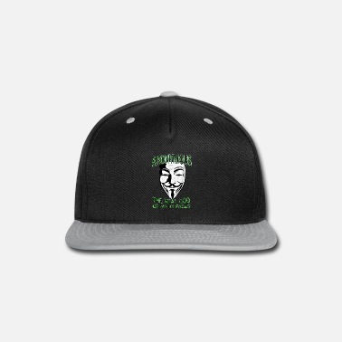Anonymous Anonymous God of Faces - Snapback Cap