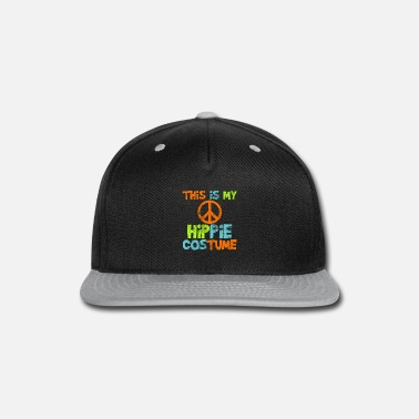 Peace Sign Hippie - Snapback Cap