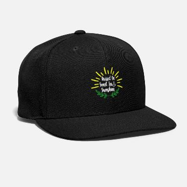 Tea Sweet Tea Raised on Sweet Tea and Sunshine - Snapback Cap