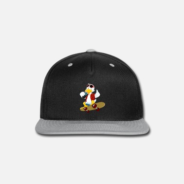 Duck reacting duck - Snapback Cap
