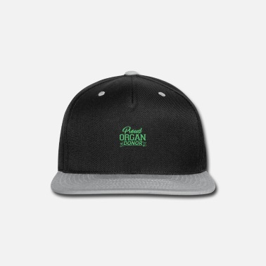 Organ Donor Organ Donor Organ Donor Organ Donor Organ Donor - Snapback Cap