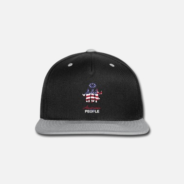 American Party People USA freedom 4th of July - Snapback Cap