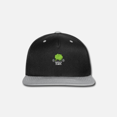 Nature Conservation Vegan Athlete Weightlifting Cabbage Gift - Snapback Cap
