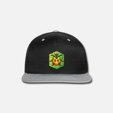Junglecontest LADY BUG VECTOR DRAWING - Snapback Cap