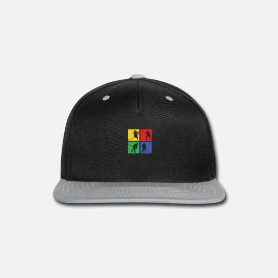 Gift Idea Caps - Ice Hockey - Snapback Cap black/gray