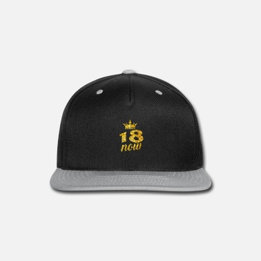 18th Birthday Sweet 18 Birthday 18 Years Old Party Teenager Gift - Snapback Cap