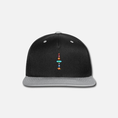 Scientology Galaxy planets flat earth - Snapback Cap