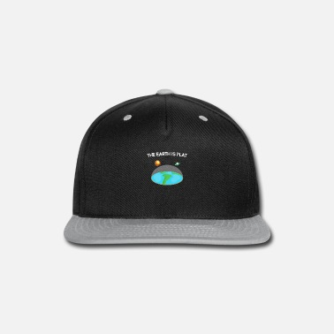 Scientology The earth is flat - Snapback Cap