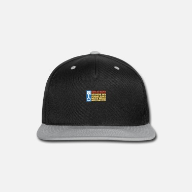 Charger Mens We Solve Our Problems With Wide Open - Snapback Cap