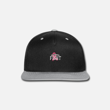 Breast Cancer Fight Football Fight Breast Cancer - Snapback Cap