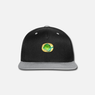 Plaice Happy River Fish Plaice Fishing Gift Fisherman - Snapback Cap