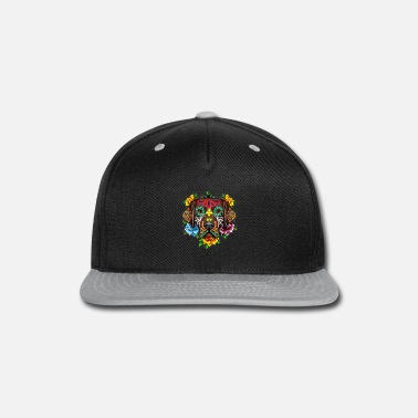 Black Labrador Retriever Day of the Dead t Shirt - Snapback Cap