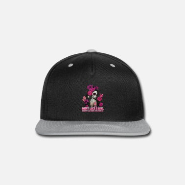 Breast Cancer Awareness Pink Flowers Girl Gifts - Snapback Cap