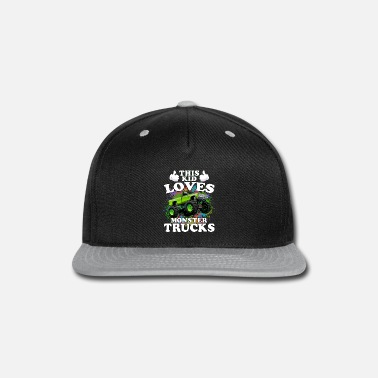 Monster This Kid Loves Monster Trucks - Snapback Cap