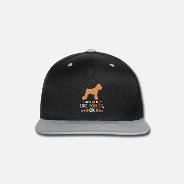 Yorki Yorkie Dog Lovers Gifts Dog Lovers Gifts - Snapback Cap