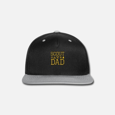 Oath Scout dad scout scouting member supporter - Snapback Cap