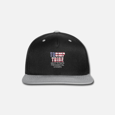 Womens Donald Trump Back to Back Presidential Champs Donald Trump Gift - Snapback Cap
