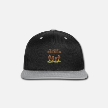 Magic Mushroom Hunter Amateur Mycologist Nature Plants - Snapback Cap