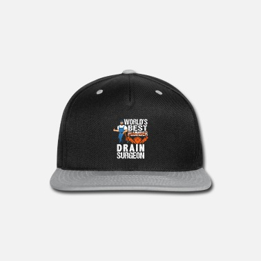 Meme World's Best Plumber Drain Surgeon - Snapback Cap