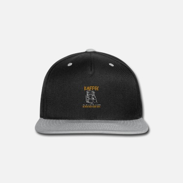 Big Coffee Motivation - Snapback Cap