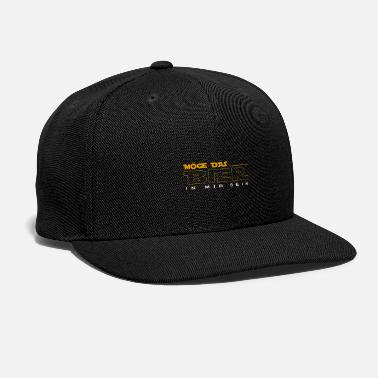 Booze May the beer be in me boozing party booze booze - Snapback Cap