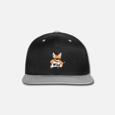Fox with a message - Snapback Cap