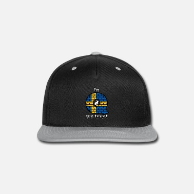 Anonymous Sweden In Q we trust - Snap-back Baseball Cap