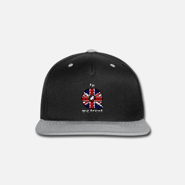 Uk UK In Q we trust - Snap-back Baseball Cap