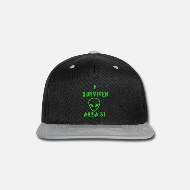I SURVIVED AREA 51 - Snapback Cap