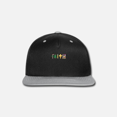 Faith Christianity I Cool Christmas Eve - Snapback Cap