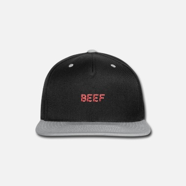 Fork Animal Meat Beef Bacon Grilling Bbq Lover - Snapback Cap