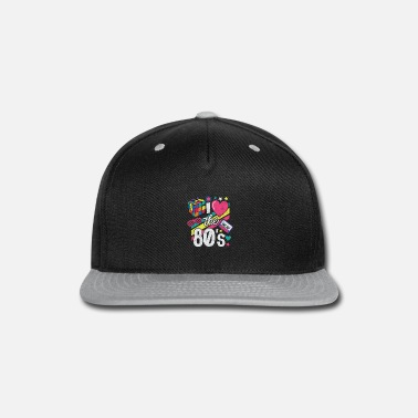 80s Clothing 80s Shirt I Love The 80s - Clothes Women and Men - Snapback Cap