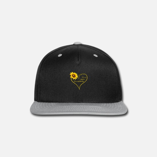 Jesus Caps - Jesus It's Not Religion It's A Relationship - Snapback Cap black/gray