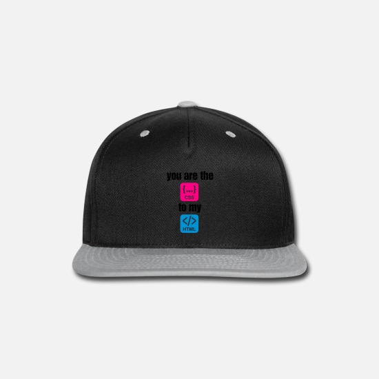 Css Caps - You Are The Css 4 (3c)++ - Snapback Cap black/gray