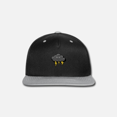 Above The Clouds black cloud - Snap-back Baseball Cap