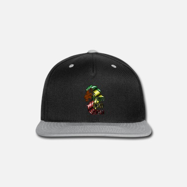 Iron Metal Reggae music, rastafari, Iron, lion, zion metal - Snap-back Baseball Cap