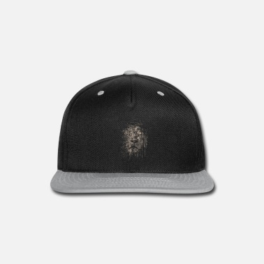 Grunge grunge lion - Snap-back Baseball Cap