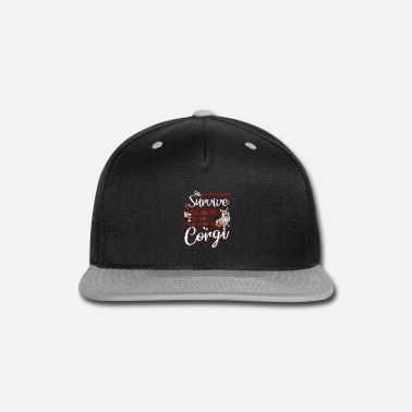 Sheet Womens A Woman Can t Survive On Wine Alone She Nee - Snapback Cap
