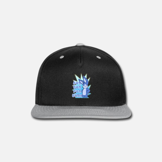 Magic Caps - Bun Bun Fun Time! - Snapback Cap black/gray
