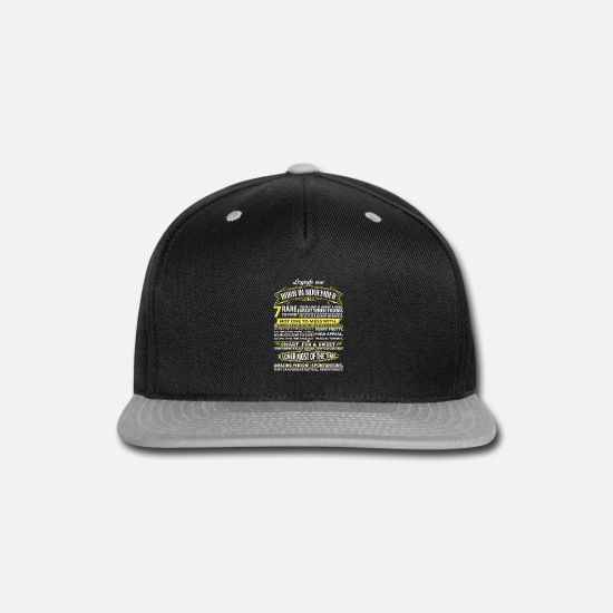 Birthday Caps - Legends Are Born In November - Snapback Cap black/gray
