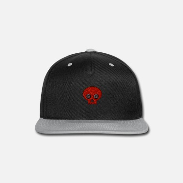 Conceited Red Skull - Snapback Cap