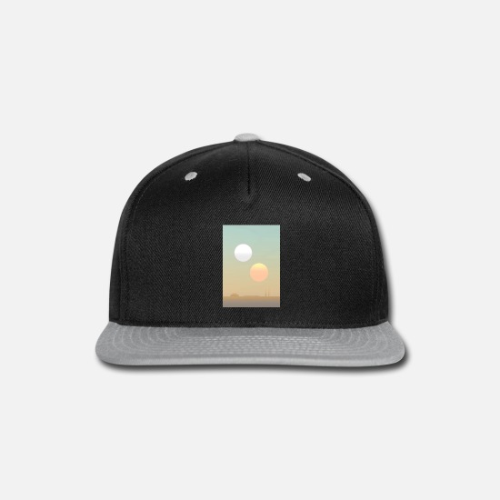 Awakening Caps - Sunset Awakens a New - Snapback Cap black/gray
